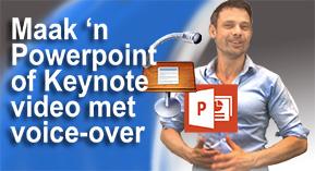 Powerpoint of keynote video