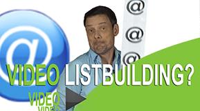 Videolistbuilding