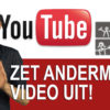 einde YouTube video uitzetten