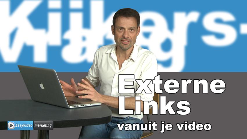 Externe link vanuit een video