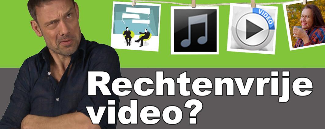 rechtenvrije video