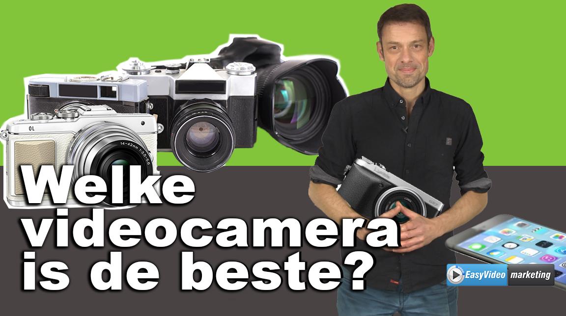 Welke videocamera is de beste voor je video's?
