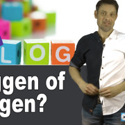 Bloggen of vloggen