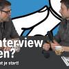 hoe film je een interview