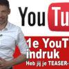 Kanaaltrailer, je Youtube-teaser