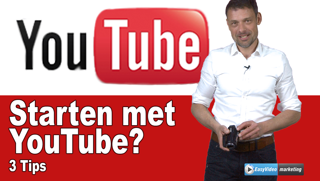 starten met youtube