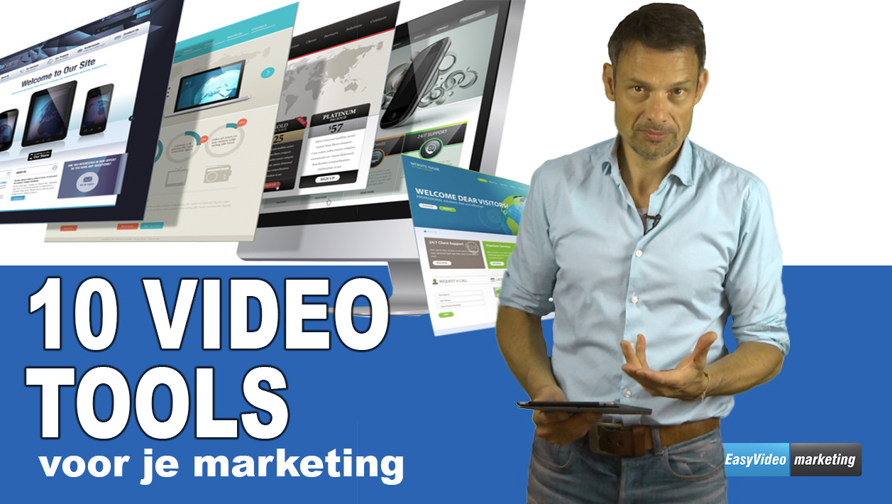 Videotools voor je marketingvideo's