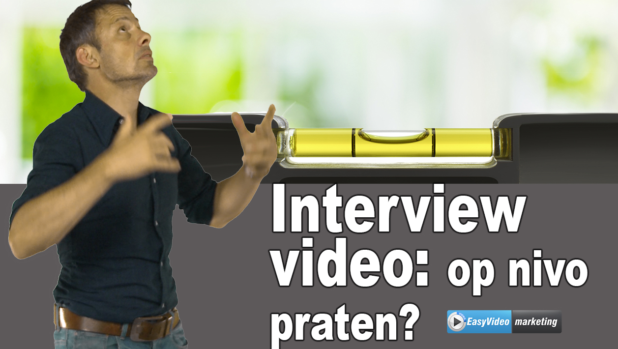 Interview video: praat jij op nivo?