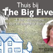 The BigFive: Anne Raaymakers
