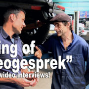 Making of videogesprek