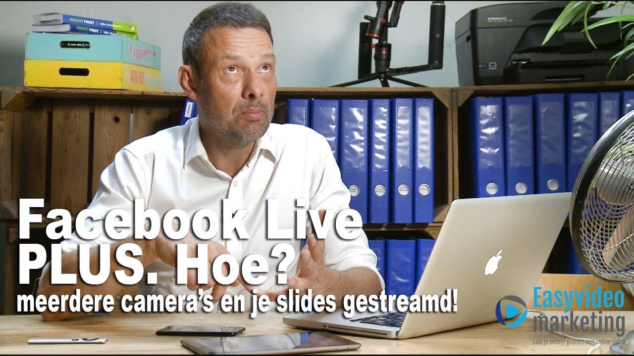 Facebook live plus streamen
