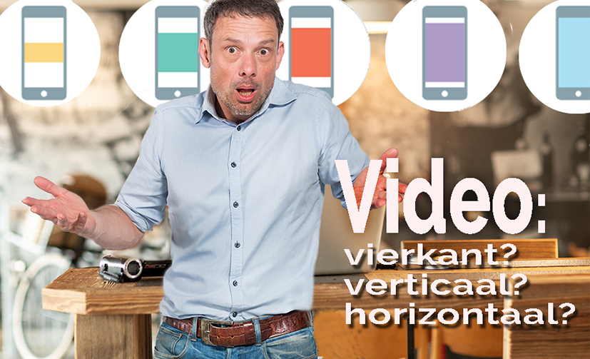 Verticale en vierkante video's