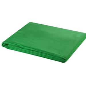 Groen doek opgevouwen